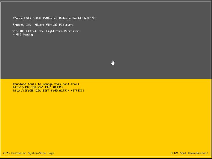 Configuring ESXi 6 (vSphere Setup Part 2) – Brandon Graves